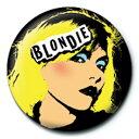 BLONDIE ブロンディー (結成45周年記念 ) - Punk / バッジ 【公式 / オフィシャル】