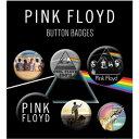 PINK FLOYD ピンクフロイド (結成55周年記念 ) - Mix 6個セット / バッジ