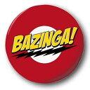 ショッピングbigbang BIG BANG THEORY ビッグバンセオリー - Bazinga / バッジ 【公式 / オフィシャル】