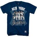 KISS キッス (フェアウェル・ツアー ) - New York Yankees Dressed to Kill / Tシャツ / メンズ 【公式 / オフィシャル】