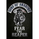 SONS OF ANARCHY サンオブアナーキー Fear the Reaper / ポスター 【公式 / オフィシャル】