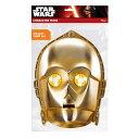 STAR WARS スターウォーズ C-3PO Mask / ハロウィン / ホビー雑貨 【公式 / オフィシャル】