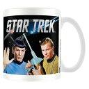 STAR TREK スタートレック (放送55周年 ) - Kirk Spock / マグカップ 【公式 / オフィシャル】