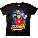 ショッピングbigbang BIG BANG THEORY ビッグバンセオリー - THE DC SUPERHERO GROUP / Tシャツ / メンズ 【公式 / オフィシャル】
