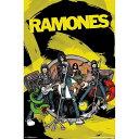 RAMONES ラモーンズ - Animated / ポスター 【公式 / オフィシャル】