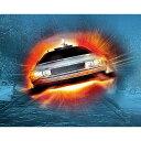 BACK TO THE FUTURE バックトゥザフューチャー (公開35周年記念 ) - Delorean /キャンバス・プリント木枠(40×58×3.8cm) / インテリア額 【公式 / オフィシャル】