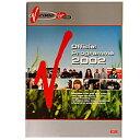 V-FESTIVAL - V2002 Official Programme / パンフレット