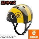 【XSサイズ】【nutcase/ナットケース/little nutty/リトルナッティ/子供用ヘルメット/レインボープロダクツ】バンブルビー