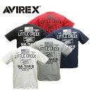 AVIREX 6193342 Little Creek ポケットTシャツ【アヴィレックス リトル クリーク Pocket T-Shirt SEAL TEAM 10】メンズ ミリタリー カジュアル