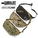 BULLET バンダリア / MULTICAM 【バレット】バリスティックス メンズ ミリタリー カジュアル アウトドア マルチカム アライド ブラック ショルダーバッグ