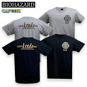 BIOHAZARD Custom Shop Kendo Tシャツ メンズ 半袖 ラクーンシティ S.T.A.R.S ケンドーカスタムショップ