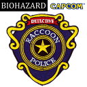 BIOHAZARD R.P.D. パッチ w/ベルクロ 【バイオハザード resident evil カプコン ゲーム CAPCOM】Raccoon city Police Dept ワッペン ベ..