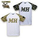 ショッピングモンスターハンター モンスターハンター Monster Hunter Tシャツ for PATCH / カモフラージュ カプコン capcom メンズ ミリタリー カジュアル アウトドア ゲーム カモ 迷彩 パッチパネル 国内正規