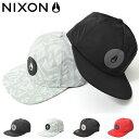 ショッピングnixon 半額 50%off ベースボールキャップ NIXON ニクソン メンズ COLESY SNAPBACK 帽子 CAP ロゴ スケボー BBキャップ スナップバック