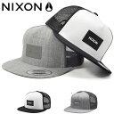ショッピングnixon メッシュキャップ NIXON ニクソン メンズ TEAM TRUCKER HAT SNAPBACK 帽子 CAP ロゴ スケボー BBキャップ スナップバック 2019秋冬新作 10%off