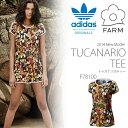 メール便対応可能! 半袖Tシャツ adidas Originals × THE FARM COMPANY レディース バード柄 プリントTシャツ グラフィック アディダス オリジナルス 2014夏新作