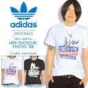 送料無料 半袖Tシャツ adidas Originals メンズ ロゴ プリントTシャツ スニーカー プリント ガールプリント プリントT アディダス オリジナルス 2014夏新作
