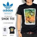 送料無料 半袖Tシャツ adidas Originals メンズ ロゴ スニーカー プリントTシャツ アディダス オリジナルス 2014夏新作