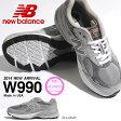 送料無料 限定店舗品 スニーカー W990 new balance ニューバランス レディース カジュアル シューズ 靴 Made in USA アメリカ製 グレー 【あす楽対応】