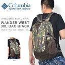 コロンビア Columbia メンズ レディース リュック バックパック アウトドア トレッキング ハイキング 通勤 通学 かばん カバン 鞄