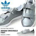 送料無料 スニーカー adidas Originals アディダス オリジナルス メンズ レディース FAST ファスト メタリックシルバー ベルクロ シューズ 靴 ローカットスニーカー カジュアルシューズ S76661 2016冬新作