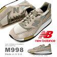 送料無料 限定店舗品 スニーカー M998 new balance ニューバランス メンズ カジュアル シューズ 靴 スエード Made in USA アメリカ製