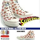 コンバース ハイカット オールスター スーパーマン CONVERSE メンズ ALL STAR SM HI スニーカー 靴 1C992 1C993 SUPERMAN 2013新作 53%OFF【あす楽対応】