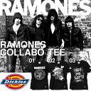 ディッキーズ×ラモーンズ コラボ Tシャツ 半袖 メンズ Dickies RAMONES S/S TEE バンドT ロックT 限定