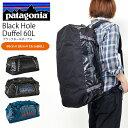 送料無料 ダッフルバッグ patagonia パタゴニア Black Hole Duffel 60L メンズ レディ
