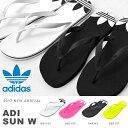 ビーチサンダル adidas Originals アディダス オリジナルス メンズ レディース ADI SUN W ロゴ ビーサン ビーチ サンダル プール 海...