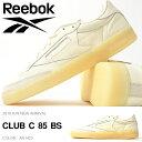 高品質プレミアムレザー スニーカー リーボック Reebok メンズ CLUB C 85 BS ローカット シューズ 靴 2016秋冬新作 AR1423 クリームホワイト