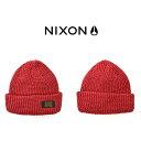 ショッピングnixon 現品限り ニット帽 NIXON ニクソン メンズ レディース WARRANT BEANIE タグ付き ビーニー 帽子 ぼうし ニットキャップ スケートボード ストリート 得割40