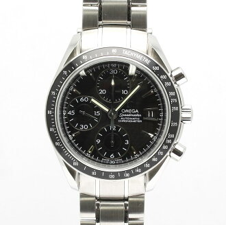 Omega 3210.50 Speedmaster SS Black Edition mens automatic winding / 32932 OMEGA