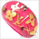 珠宝, 手表 - ルイヴィトン LOUIS VUITTON バーグアンクルージョン リング M65776 M 13号 ローズポップ ピンク 指輪/097280【中古】