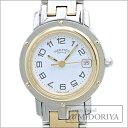 エルメス HERMES クリッパー CL4.220 白文字盤 レディース 腕時計