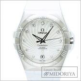 オメガ OMEGA コンステレーション ダブルイーグル ダイヤ 123.13.35.20.55.001 レディース/33929 【中古】 腕時計