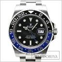 【10月22日10:00〜 スマホからエントリーでポイント10倍!】ロレックス ROLEX GMTマスター2 116710BLNR 黒青ベゼル ランダム メンズ/33956 【中古】 腕時計