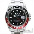 ロレックス ROLEX GMTマスター2 SS 黒赤ベゼル メンズ 16710 自動巻き/34083 【中古】 腕時計楽天カード分割