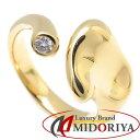ティファニー Tiffany & Co. フルハート リング ダイヤモンド1P K18YG 11号 イエローゴールド 指輪/099617【中古】