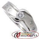 ダイヤモンドリング Pt900 ダイヤモンド0.20ct 11号 プラチナ 指輪 レディース ジュエリー/63331【中古】