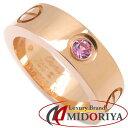 【最大3万円OFFクーポン】Cartier カルティエ ラブリング 1Pピンクサファイヤ 指輪 ピ