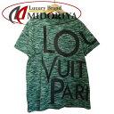 ショッピングGALAXY ルイヴィトン LOUIS VUITTON Tシャツ ギャラクシー プリンテッド カーキ XS 1A4PTQ /046547 【中古】P_10
