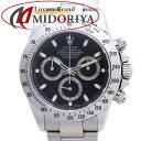 ロレックス ROLEX コスモグラフ デイトナ 116520 ブラック V番 メンズ /37210 【中古】 腕時計