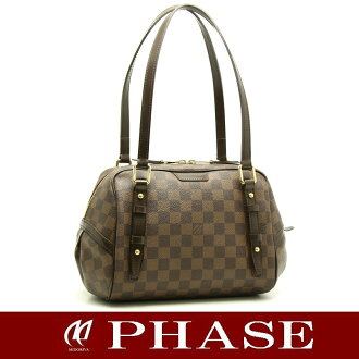 Louis Vuitton N41157 Damier Rivington PM Louis Vuitton/18741 fs3gm