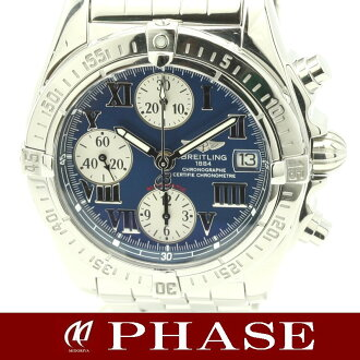 "Breitling A13358 Wind Rider ""Chrono cockpit' SS automatic winding / 30686 fs3gm"