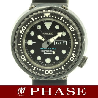"SEIKO (Seiko) ""マリーンマスタープロ Robert F Marx world limited edition of 300 ' men's watch divers 7C46-0AA0/30909"