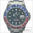 ロレックス ROLEX GMTマスター1 青/赤ベゼル 16700 PVD加工 改造品 メンズ/33661 【中古】 腕時計