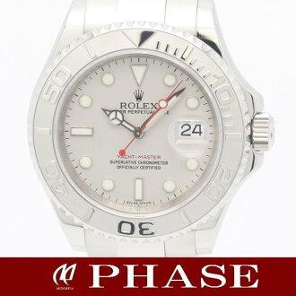 Rolex yacht-16622 Pt bezel xSS men's automatic self-winding roulette V-/ 31182 fs3gm