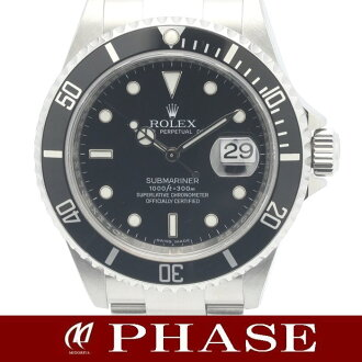 Rolex サブマリーナデイト 16610T men's automatic self-winding roulette M-/ 31187 fs3gm