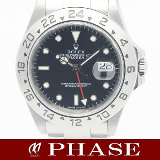 16570 2 Rolex Explorer SS lindera board men self-winding watch /31283 fs3gm